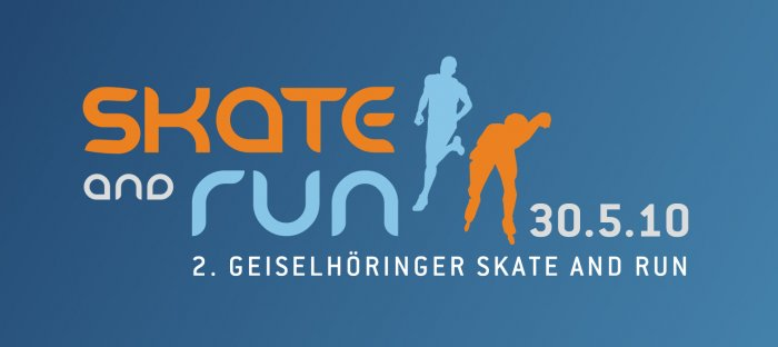 Skate and run - Logo
